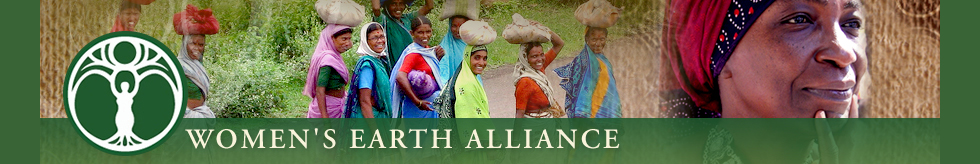Womens Earth Alliance Banner